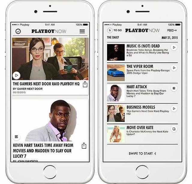 Suka baca artikel PlayBoy?, download aplikasinya di Android dan iOS