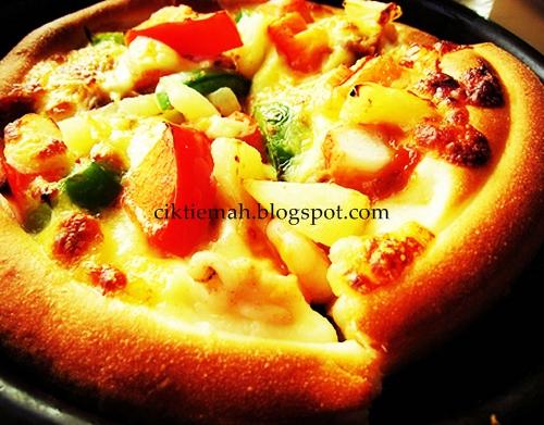 Resepi masakan Mini Pizza yang mudah.