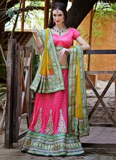 Indian Bridal Dresses Lehenga