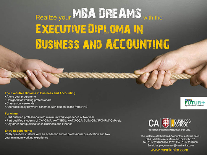Diploma in Business and Accounting CA Sri lanka