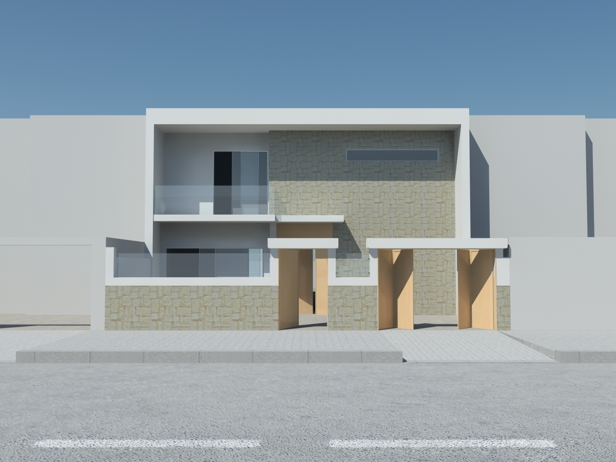 Awesome Photo Facade Villa Moderne Images - Amazing House Design ...