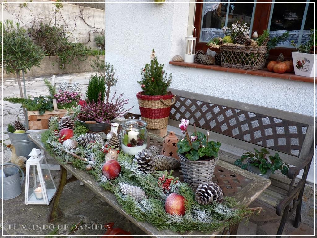 Blumenkasten Weihnachtlich Dekorieren küchenzeile weiss