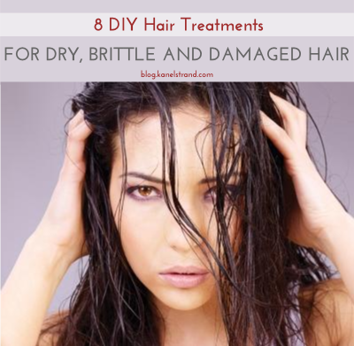 8 DIY Treatments for dry, brittle and damaged hair