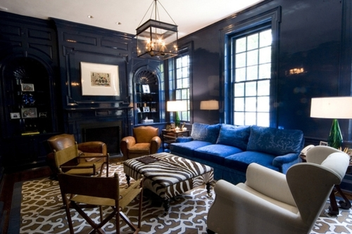 Navy Blue Interior Design Idea Library Of Design Feeling Blue Why Navy Interiors Reflect Our Mood