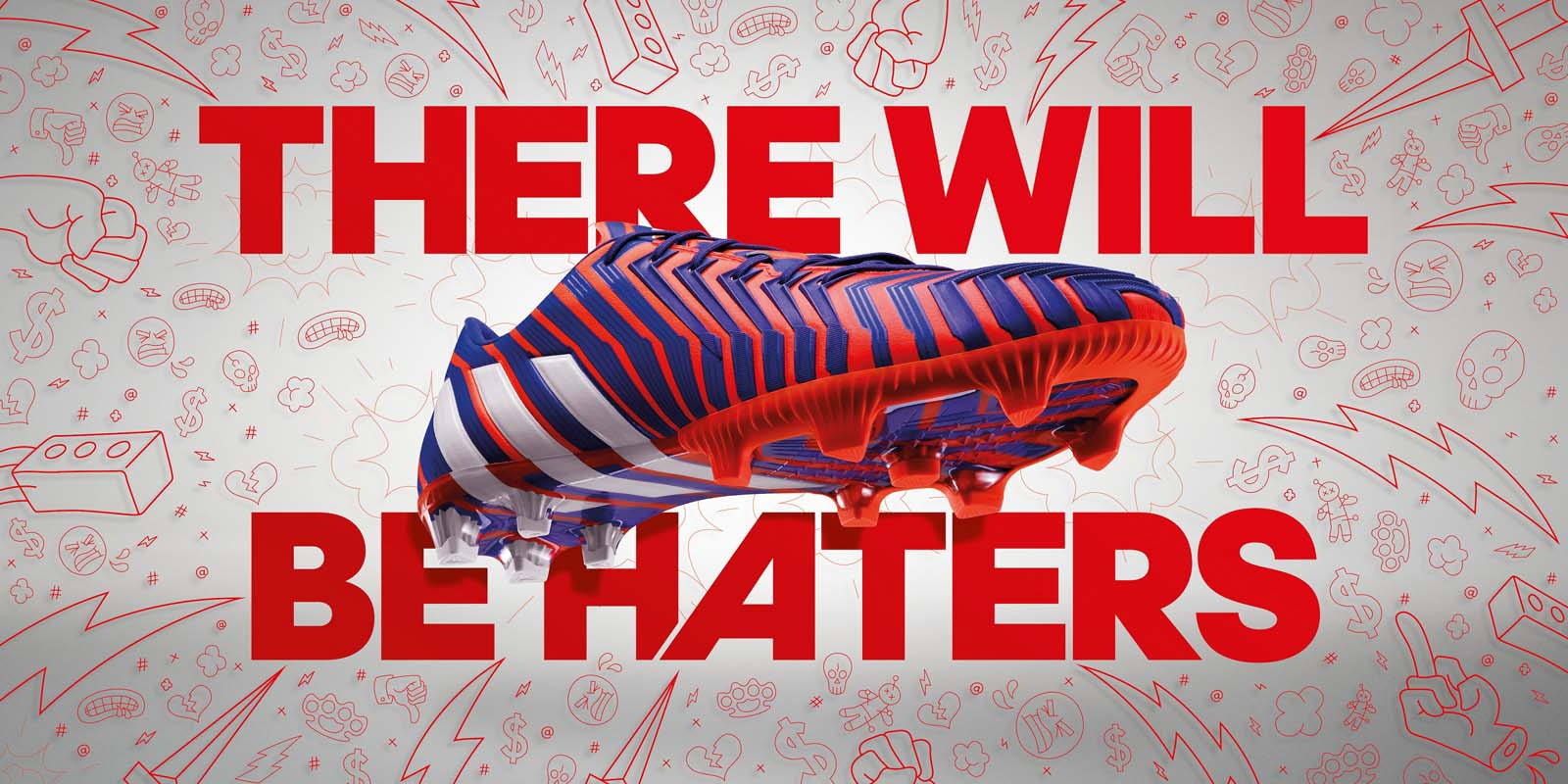 adidas fußballschuhe there will be haters