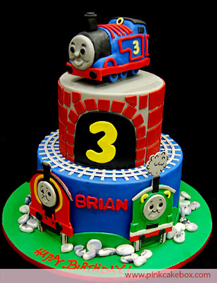 Thomas the train birthday cake for kids