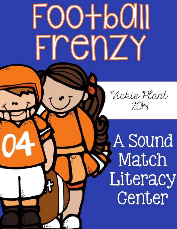 http://www.teacherspayteachers.com/Product/Football-Frenzy-A-Sound-Match-Literacy-Center-1496109