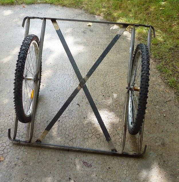 Favori La famille créative: Fabrication d'un vélo Cargo - Etape 1 : Le  RU95