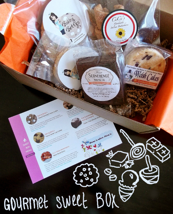May 2014 Orange Glad Sweet Box