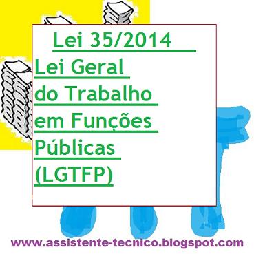 Lei 35/2014 - Lei Geral do Trabalho em Funções Públicas