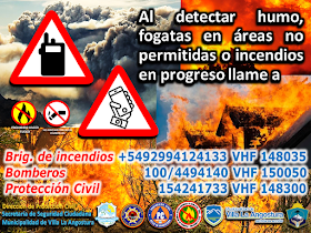 Incendios estructurales, interfase y forestales