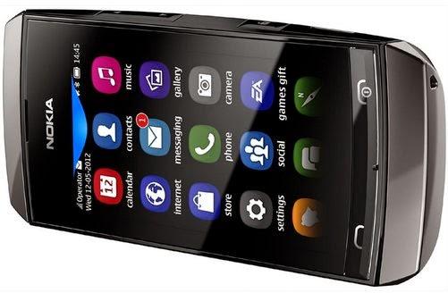 Nokia Asha 306 Spesifikasi dan Harga baru bekas