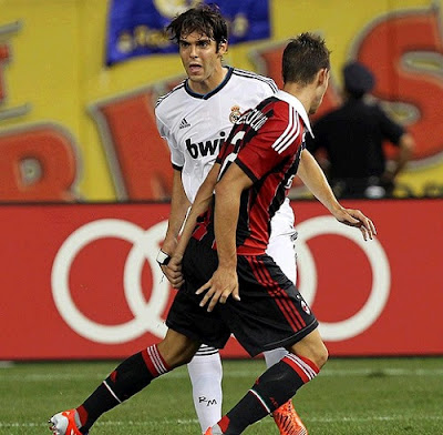 Kaka playing agaisnt Milan