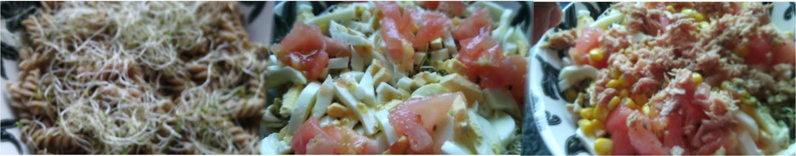 Salud y felicidad ensalada de pasta integral de espelta for Ensalada de pasta integral