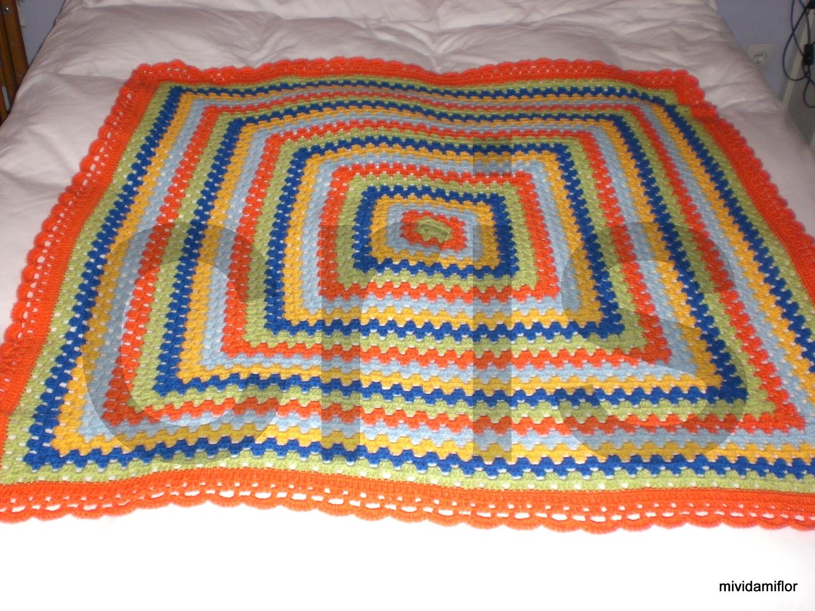 Mantas de crochet paso a paso imagui - Mantas de crochet paso a paso ...