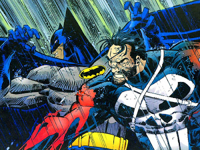 Punisher vs Batman Romita Jr
