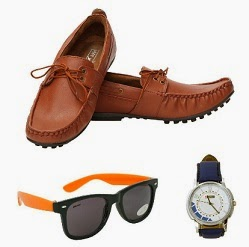 Randier Loafers, Sunglasses & Watch By Lotto worth Rs.2998 for Rs.899 Only with Free Shipping
