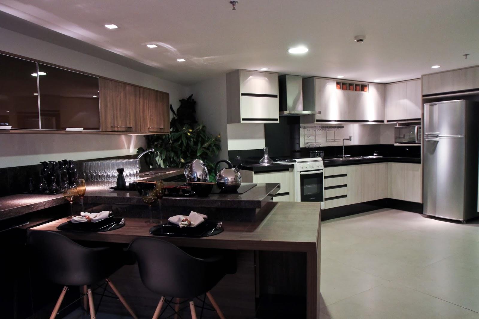 cozinha americana altura balcão #624A44 1600 1066