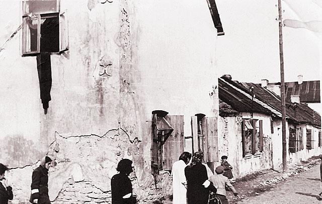 Końskie, getto, ul. Kopce 2. Fotografię udostępnił Mateusz Partyka