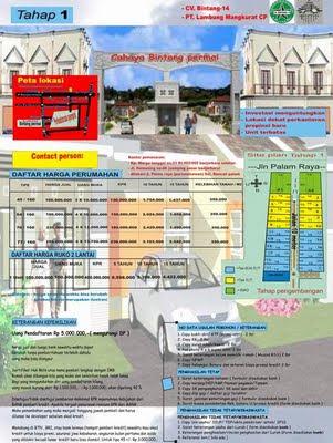 brosur perumahan cv. bintang_14 banjarbaru
