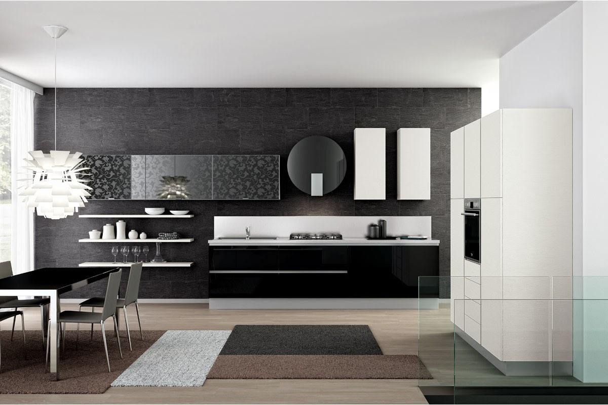 Cocinas descaradamente abiertas cocinas con estilo - Cucine in linea moderne ...
