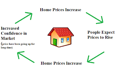 housing bubble feedback loop
