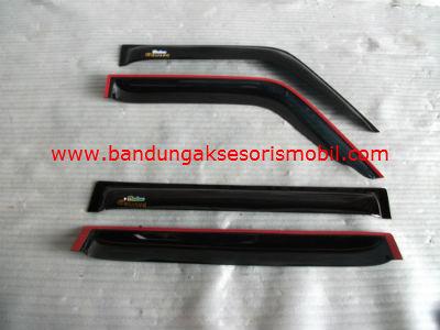 Talang Air Kijang Super / Kijang Grand Original Black Depan Belakang