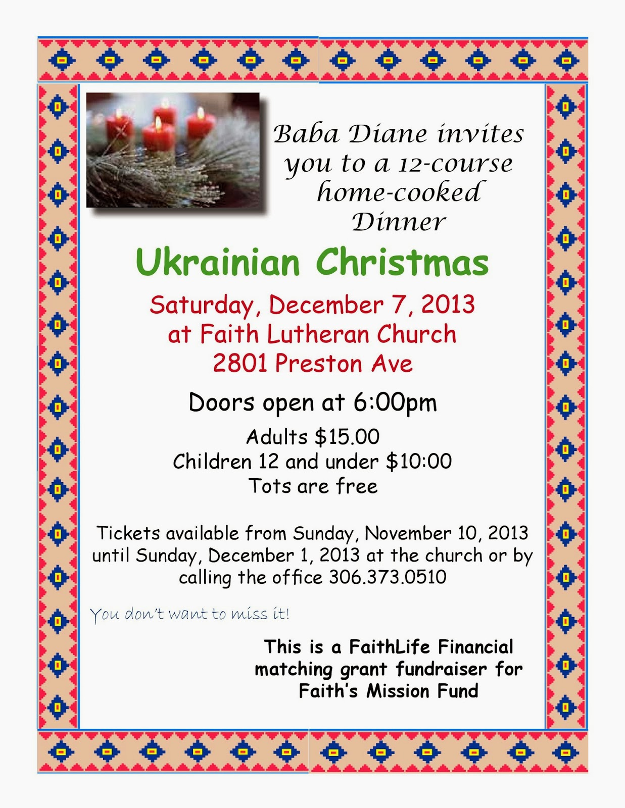 Faith lutheran church saskatoon faith4u upcoming events sweet life with pie nvjuhfo Choice Image