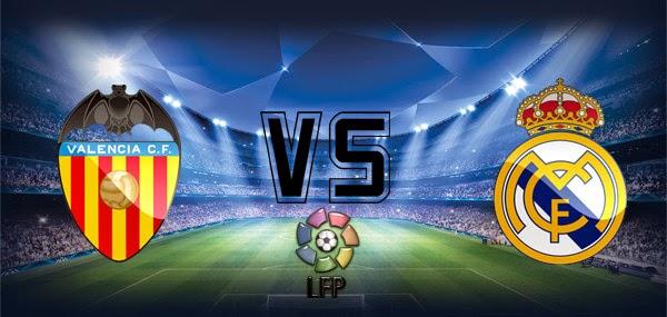 Poker Online : Prediksi Skor Valencia vs Real Madrid 4 Januari 2015
