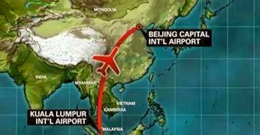 Jalur Malaysia Airlines MH370