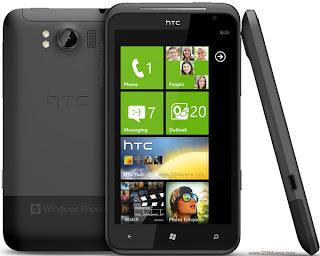 ponsel windows phone mango HTC Titan 2012 harga spesifikasi lengkap