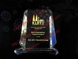 Produk Takaful Terbaik KLIFF 2012