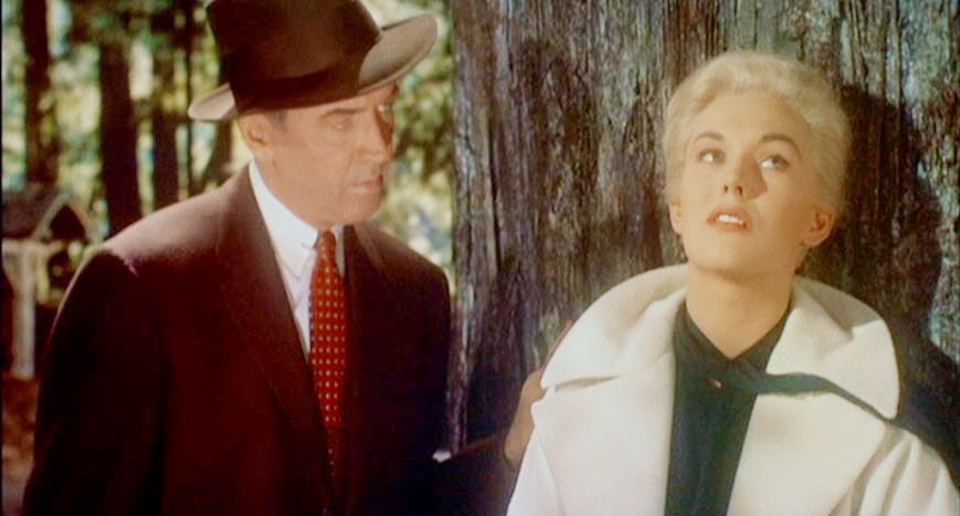 Vertigo - James Stewart and Kim Novak