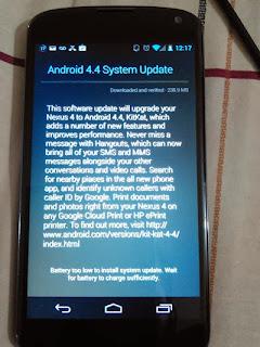 ¿Cómo libera Google las actualizaciones vía OTA a los Nexus?, problema ota nexus