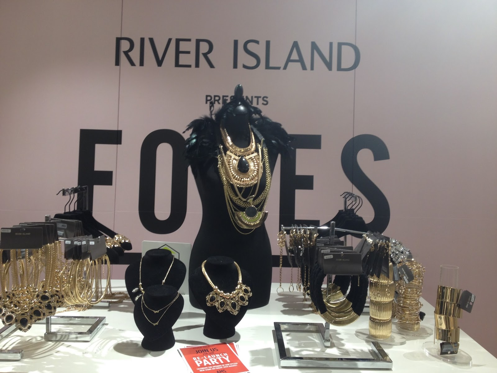 RIVER ISLAND Amsterdam Exclusive Re-launch Party Event August 2014