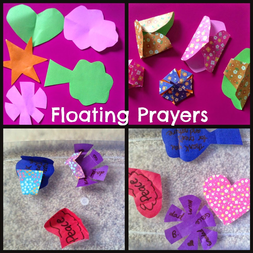 Flame: Creative Children\'s Ministry: Floating Prayers