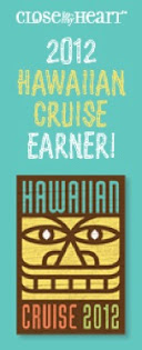 I EARNED the Hawaiian Cruise!!