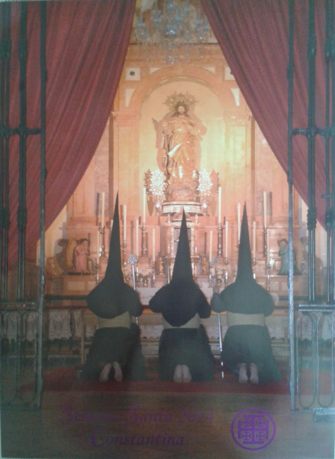 Cartel de la Semana Santa Constantina 2014