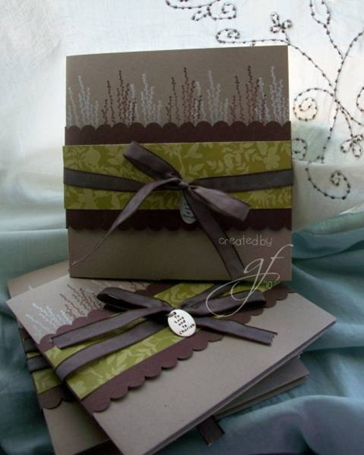 chocolate wedding invitations