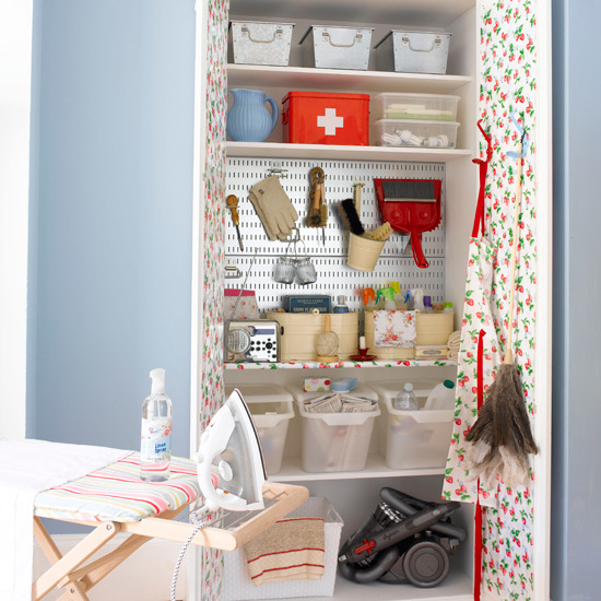 Interior design home decor furniture furnishings Storage solutions for small laundry rooms