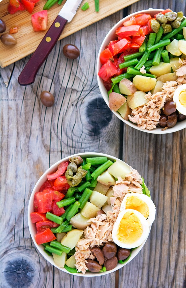 Chopped Nicoise Salad