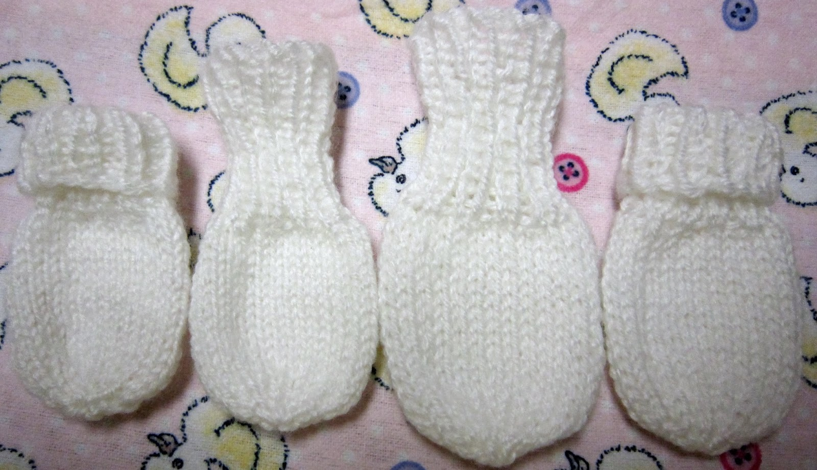 Knitting Patterns For Mittens For Premature Babies : Sea Trail Grandmas: FREE KNIT EASY PREEMIE MITTENS