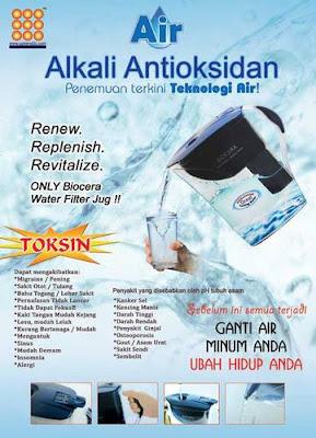 Air Alkali Antioksidan Biocera