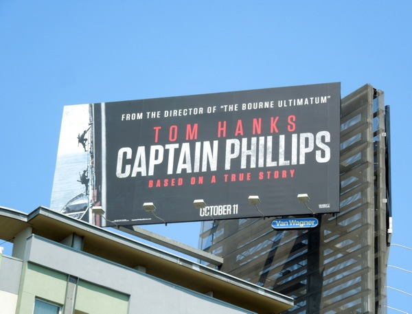 Captain Phillips film billboard