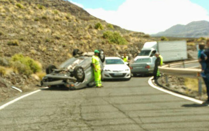 fotos accidente trafico la aldea el risco