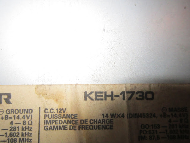 Pioneer Keh1730