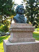 Escultura  Bethoven Prado Montevideo Uruguay