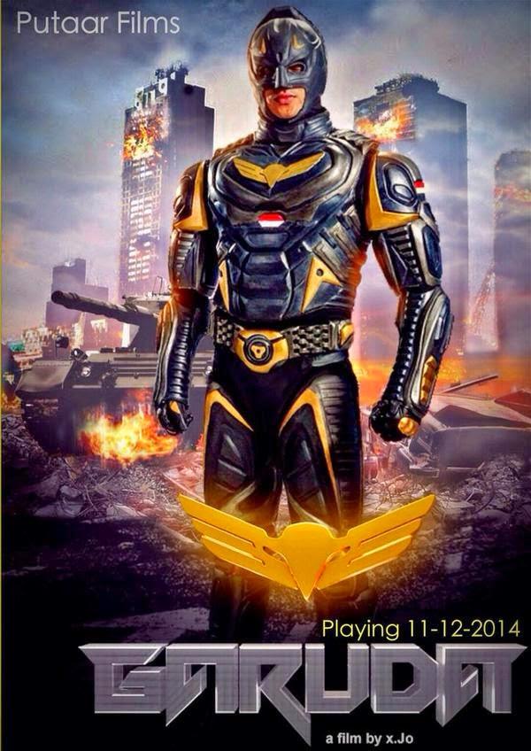 Poster Garuda Superhero Indonesia