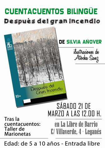 Cuentacuentos bilingüe Leganés