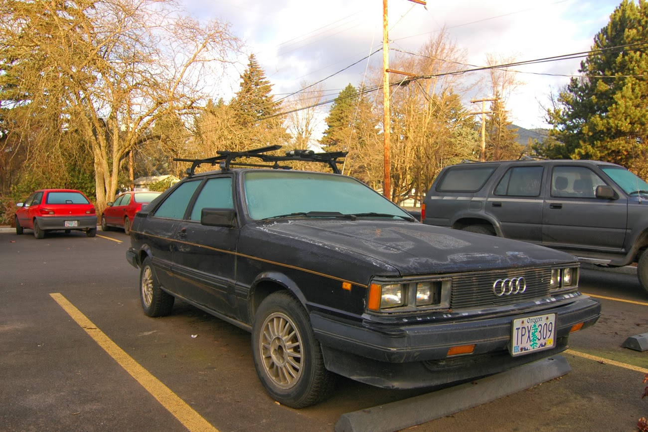 OLD PARKED CARS 1984 Audi Coup GT